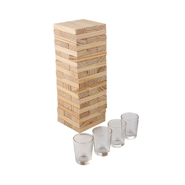 Jenga Drinking Tower